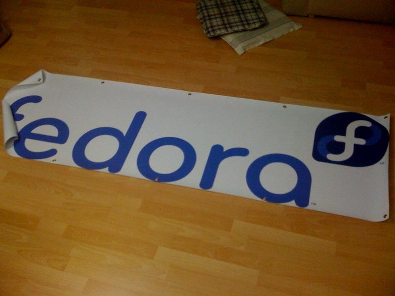 Fedora Logo Banner
